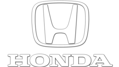 Honda Logo knockout white 400x225