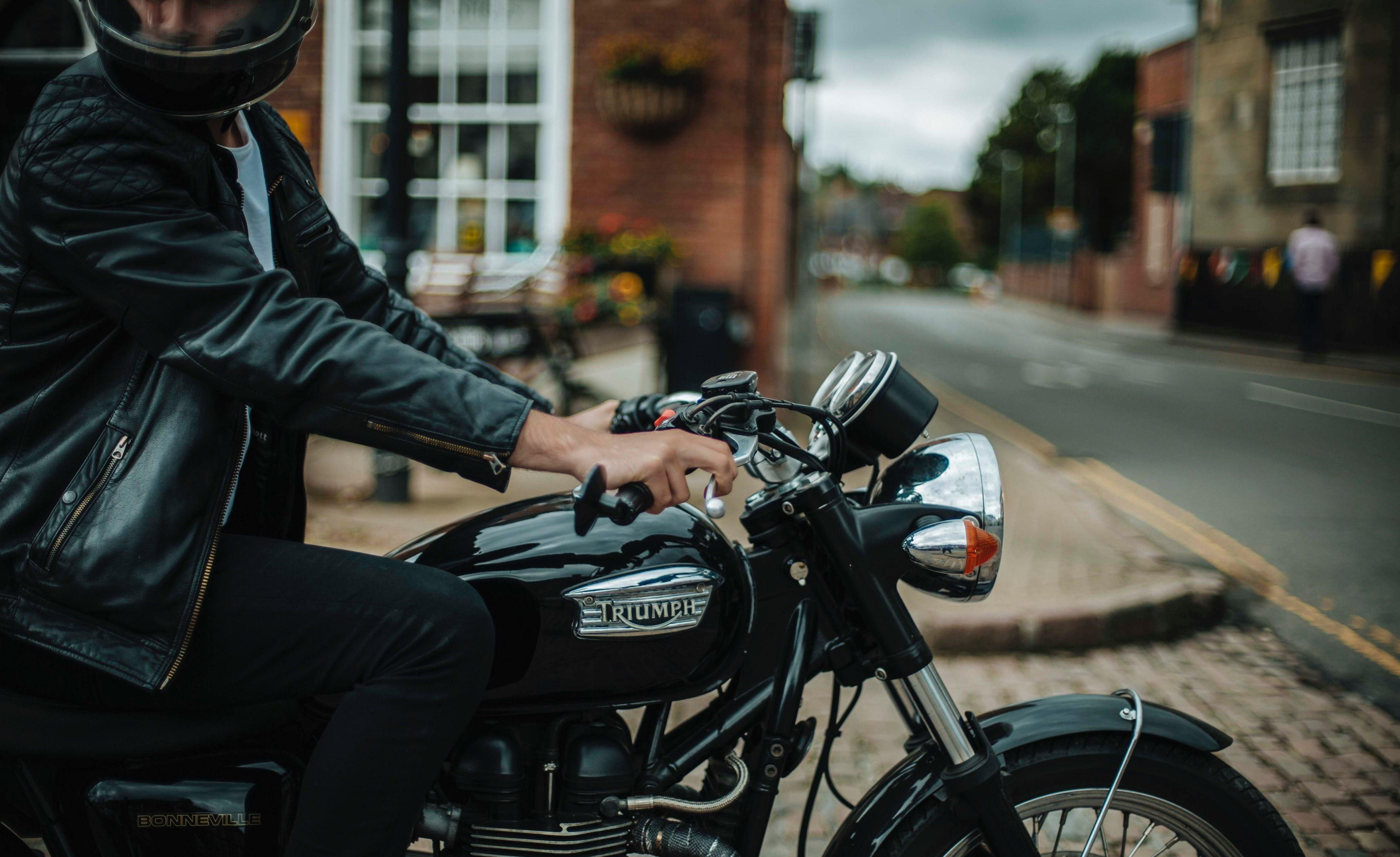 Triumph motorcyle image 1