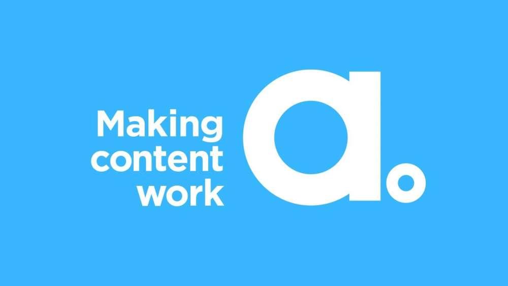 Adgistics logo with blue background