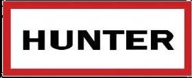 Hunter boots square logo